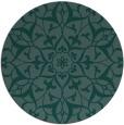 rug #921687 | round damask rug