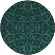 rug #921688 | round damask rug