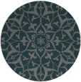 rug #921777 | round green damask rug