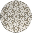rug #921801 | round white traditional rug