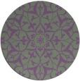 rug #921832 | round damask rug