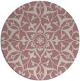 rug #921994 | round damask rug