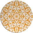 rug #922001 | round light-orange traditional rug