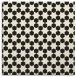 rug #922389   square black graphic rug