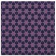 rug #922465 | square blue-violet rug