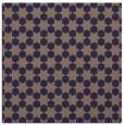 rug #922473 | square beige graphic rug