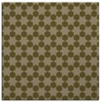 rug #922481 | square brown graphic rug