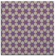 rug #922549 | square purple popular rug