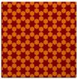 rug #922565   square orange graphic rug