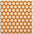 rug #922569   square orange graphic rug