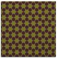 rug #922601 | square purple graphic rug