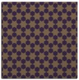 rug #922605   square purple geometry rug