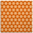 rug #922633 | square red-orange geometry rug