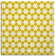 rug #922681 | square yellow graphic rug