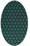rug #922767 | oval geometry rug