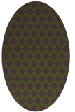 rug #922868 | oval graphic rug