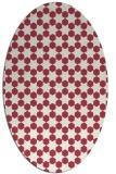 rug #922947 | oval geometry rug