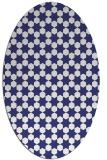 rug #923013   oval white geometry rug