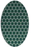 rug #923051 | oval graphic rug