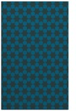 rug #923153 |  blue-green graphic rug