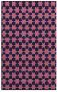 rug #923181 |  pink geometry rug