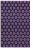 rug #923185 |  blue-violet rug