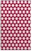 rug #923205 |  red geometry rug