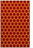 rug #923285    red-orange graphic rug