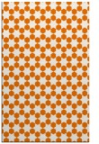rug #923289    orange graphic rug