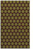 rug #923321 |  purple geometry rug