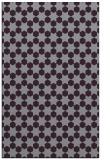 rug #923329 |  purple graphic rug