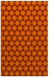 rug #923349 |  red-orange geometry rug