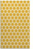 rug #923389    yellow graphic rug
