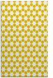 rug #923401 |  yellow geometry rug