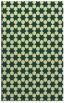 rug #923409 |  yellow geometry rug