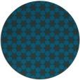 rug #923513 | round blue rug