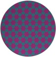 rug #923529   round blue-green graphic rug