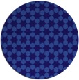 rug #923549   round blue-violet rug