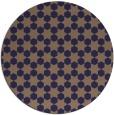 rug #923553 | round beige graphic rug