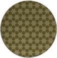 rug #923785 | round light-green rug