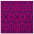 rug #926001 | square blue circles rug