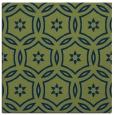 rug #926009 | square blue circles rug