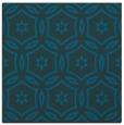 rug #926033 | square blue circles rug