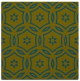 rug #926045 | square green damask rug