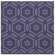 rug #926057 | square blue-violet damask rug