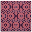 rug #926061 | square blue-violet damask rug