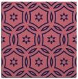 rug #926061 | square pink damask rug