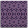 rug #926065 | square blue-violet geometry rug