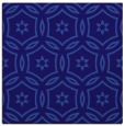 rug #926069 | square blue-violet damask rug