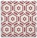 rug #926185 | square pink damask rug